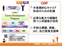 労務管理『1分間』用語集17(CDP)