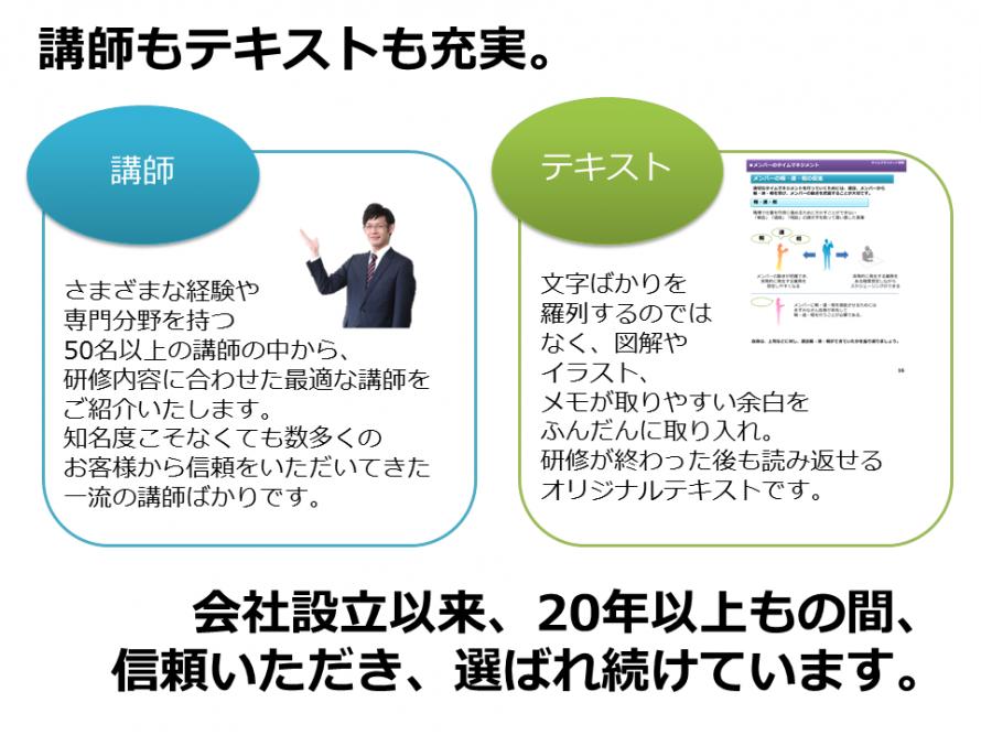 新入社員・若手社員研修プログラム8